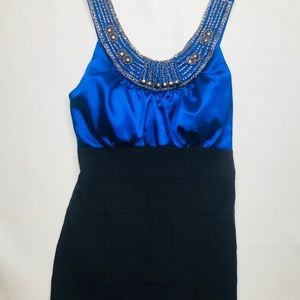 NWT sears formal bodycon dress prom homecoming 13